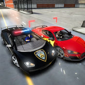 警察追车驾驶模拟器 - 高速赛车汽车追逐 1