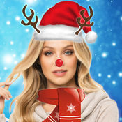 有趣的圣诞服饰 - 脸交换照片蒙太奇 1