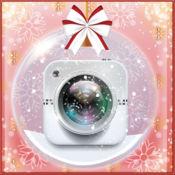 新年照片拼贴艺术: 图片编辑器与相框 1
