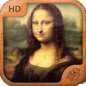 达芬奇拼图。经典艺术系列 Leonardo da Vinci Jigsaw Puzz