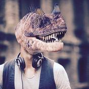 面对恐龙相机 - 免费 1