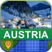 当前离线 奥地利 地图  2