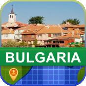 当前离线 保加利亚 地图  2