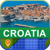 当前离线 克罗地亚 地图  2