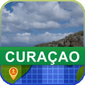 当前离线 库拉索岛 地图  2