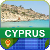 当前离线 塞浦路斯 地图  2