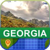 当前离线 格鲁吉亚 地图  2