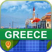 当前离线 希腊 地图  2