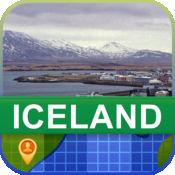 当前离线 冰岛 地图  2