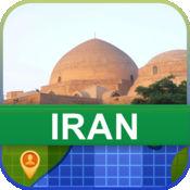 当前离线 伊朗 地图  2