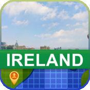 当前离线 爱尔兰 地图  2