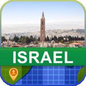 当前离线 以色列 地图  2.02