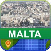 当前离线 马耳他 地图  2