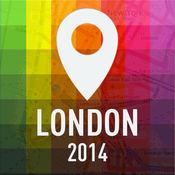 离线地图伦敦  指南  景点和交通 1.2
