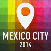 离线地图墨西哥城 - 指南, 景点和运输 1