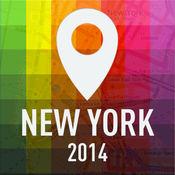 离线地图纽约 - 指南,景点和运输 1.2
