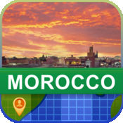 当前离线 摩洛哥 地图  2