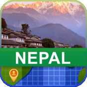 当前离线 尼泊尔 地图  2