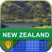 当前离线 新西兰 地图  2.02