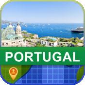 当前离线 葡萄牙 地图  2