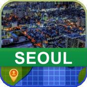 当前离线 韩国首尔, 地图 - World Offline Maps 2.02