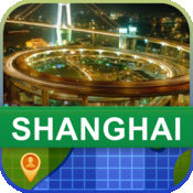 当前离线 上海,中国 地图