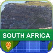 当前离线 南非 地图