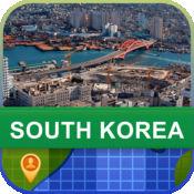 当前离线 韩国 地图