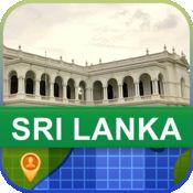 当前离线 斯里兰卡 地图  2