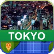 当前离线 东京,日本 地图  2.01