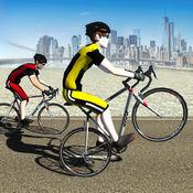 自行车赛车热潮 驱动器 & 自行车轨道上的种族