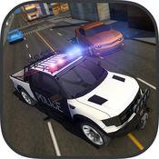 警察追逐车逃跑 - 极端警察赛车专业人士 1.1