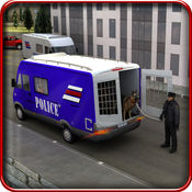警犬运输车 - 卡车模拟器 1