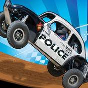 警察dunebuggy越野车车手-3d怪物卡车 1