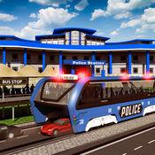 警察高架巴士模拟器3D:监狱运输 Prisoner Transport Bus 20
