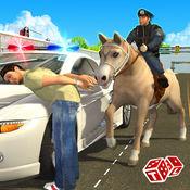 马警方大通3D  - 警长逮捕的窃贼和强盗来控制城市犯罪率 1