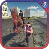 警察马军官和城市犯罪模拟器 1