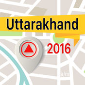 Uttarakhand 离线地图导航和指南 1