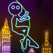 氖 城市 摆动 : 发光 抹布 娃娃 非常 飞 同 绳 1.6