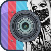 Insta 纹身机 - 纹身最热和自定义外观设计艺术相机 1.1