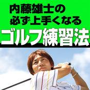 """""""動画付き"""" 内藤 雄士の必ず上手くなるゴルフ練習法 2"""