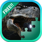 恐龙拼图游戏的孩子的拼图 1