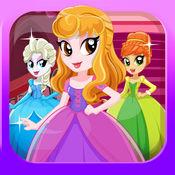 游戏打扮 时尚公主 游戏的女孩 电影美丽的童话世界 Fashio