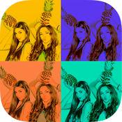 流行艺术相机照片编辑器 - 色彩效果 1