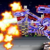 恐龙霸王龙机器人 战士 战争 1.3