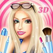 3D 化妝師女生小游戏 : 时尚造型师和美女模特装扮 1.1
