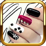 3D美甲游戏 – 美容化妆美发与修指甲可爱的外观设计时尚女
