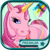 我的小马驹可爱魔法独角兽彩虹小马宝莉幼儿儿童美术教育涂