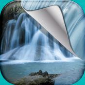 瀑布壁纸HD – 美丽的自然照片和令人惊叹的景观背景免费 1