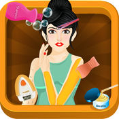 蜡水疗沙龙 - 公主美容院游戏时尚的女孩 1